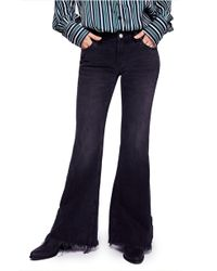 Free People - Vintage Flare Jeans - Lyst