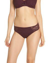 Freya - 'sundance' Crochet Hipster Bikini Bottoms - Lyst