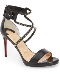 96e42263536 Lyst - Christian Louboutin Artydiva Platform Ankle Strap Sandal
