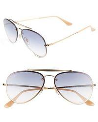 Ray-Ban | 58mm Aviator Sunglasses | Lyst