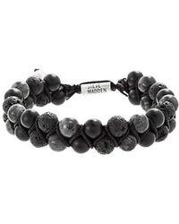 Steve Madden - Stone Bead Bracelet - Lyst