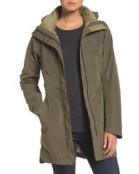 The North Face - Laney Trench Raincoat - Lyst