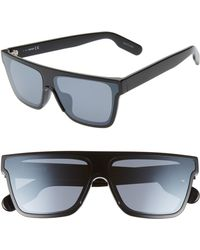 8655ada1f21 KENZO - 67mm Special Fit Oversize Flat Top Sunglasses - - Lyst
