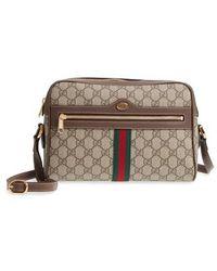Gucci - Ophidia Gg Supreme Canvas Crossbody Bag - - Lyst