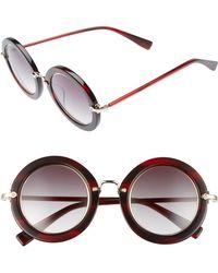 Derek Lam - Madison 46mm Round Sunglasses - Lyst