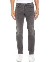 BOSS   708 Stonewash Denim Jeans   Lyst