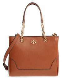 Tory Burch - Small Marsden Leather Tote - Lyst