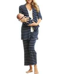 8e6f9a2f056cb Everly Grey - Analise During & After 5-piece Maternity/nursing Sleep Set -