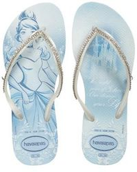 Havaianas | Slim Disney Princess Crystal Flip Flop | Lyst