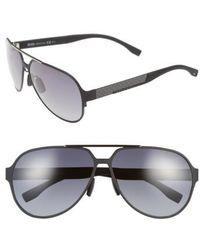 BOSS - 63mm Aviator Sunglasses - Lyst