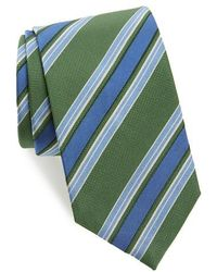 David Donahue - Stripe Silk Tie - Lyst