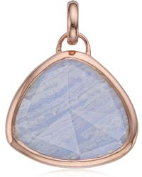 Monica Vinader - Siren Semiprecious Stone Pendant Charm - Lyst