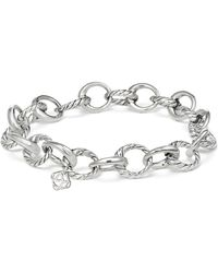 David Yurman - Cable Collectives Oval Link Charm Bracelet - Lyst