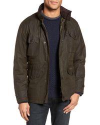 Barbour - Sapper Regular Fit Weatherproof Waxed Cotton Jacket - Lyst