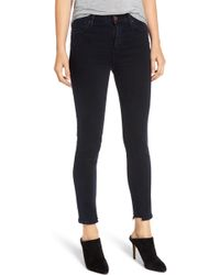 Citizens of Humanity - Rocket High Waist Crop Skinny Jeans - Lyst