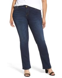 Kut From The Kloth - Natalie High Waist Bootcut Jeans - Lyst