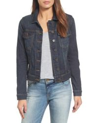Kut From The Kloth - 'helena' Denim Jacket - Lyst