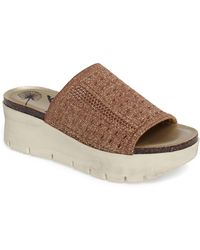bc3fb64ee6e3 Lyst - Muk Luks ® Marla Double-strap Slide-on Sandals in Gray