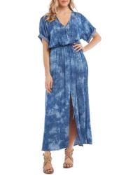 Karen Kane - Tie - Dyed Maxi Dress - Lyst
