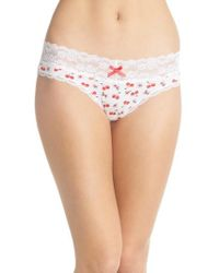 Honeydew Intimates - Lace Waistband Hipster Panties - Lyst
