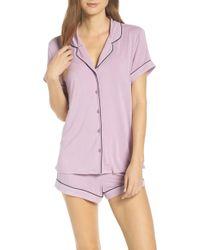 Nordstrom - 'moonlight' Short Pajamas - Lyst