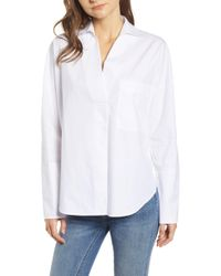 BISHOP AND YOUNG - Bishop & Young Poplin Tunic Top - Lyst