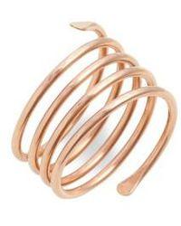 Nashelle - Coil Ring - Lyst