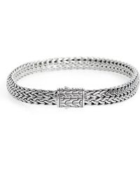 John Hardy - Classic Chain Small Flat Chain Bracelet - Lyst