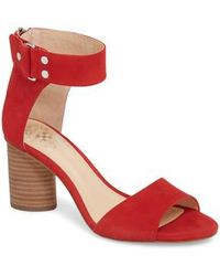 Vince Camuto - Jannali Ankle Strap Sandal - Lyst