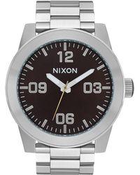 Nixon - Corporal Bracelet Watch - Lyst
