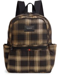626fcd5c763 Herschel Supply Co. Dawson s Backpack.  65. Bloomingdale s · State Bags -  Kane Metallic Plaid Backpack - - Lyst