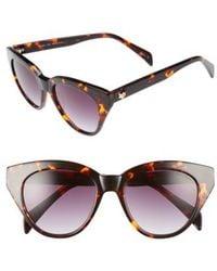 Draper James - 50mm Gradient Lens Cat Eye Sunglasses - Lyst