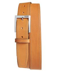 Tumi - Leather Belt - Lyst