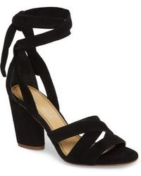 Splendid - Fergie Lace-up Sandal - Lyst