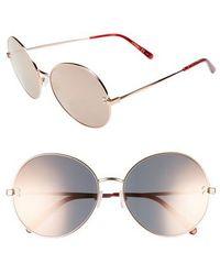 Stella McCartney - 62mm Round Sunglasses - Lyst