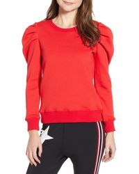 Pam & Gela - Puff Sleeve Sweatshirt - Lyst
