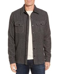 Smartwool - Anchor Line Herringbone Wool Blend Shirt Jacket - Lyst