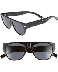 1419d272974 Dolce   Gabbana Black Top Bar Sunglasses in Black for Men - Lyst