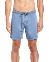 Rhythm - Classic Wash Swim Trunks - Lyst