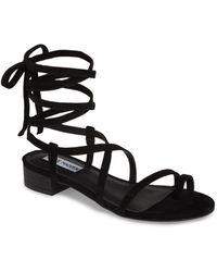 6a456f09ed3 Lyst - Women s Steve Madden Flat sandals On Sale