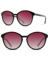 Shwood - 'bailey' 53mm Polarized Sunglasses - Lyst