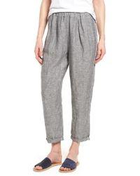 Caslon - Caslon Linen Crop Pants - Lyst