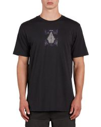 Volcom - Digi Pool Graphic T-shirt - Lyst