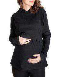 Nom Maternity - Rory Maternity/nursing Hoodie - Lyst
