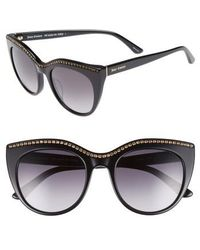 Juicy Couture - 51mm Cat Eye Sunglasses - - Lyst