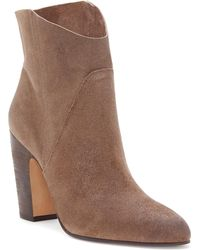 Vince Camuto - Creestal Western Bootie - Lyst