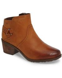 Teva | Foxy Leather Ankle Boots | Lyst