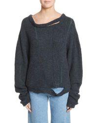 Eckhaus Latta - Wiggly Road Sweater - Lyst