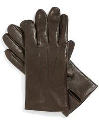 John W. Nordstrom - John W. Nordstrom Leather Tech Gloves - Lyst