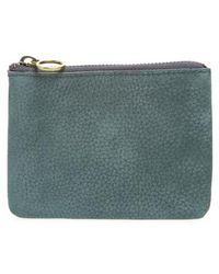 Madewell - Nubuck Leather Pouch Wallet - Lyst